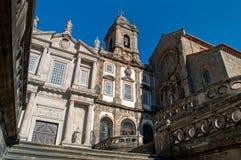 Iglesia San Francisco en Oporto portugal imagenes de archivo