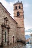 Iglesia San Francisco en Potosi Fotografía de archivo