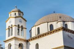 Iglesia San Nicolás en Kavala, Grecia Foto de archivo