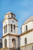 Iglesia San Nicolás en Kavala, Grecia Foto de archivo libre de regalías
