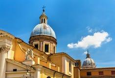 Iglesia San Rocco en Roma, Italia Fotografía de archivo libre de regalías