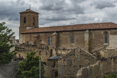 Iglesia San Roman Valladolid Royaltyfria Foton