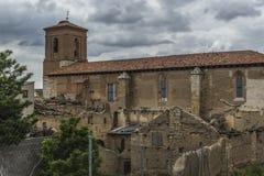 Iglesia San rzymianin Valladolid Zdjęcia Royalty Free