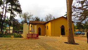 Iglesia San Sebastian royaltyfri fotografi
