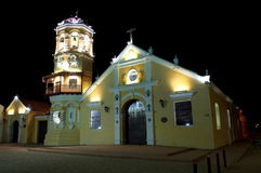 Iglesia Santa Barbara, Mompox Stock Photo