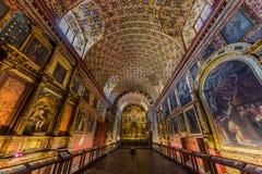 Iglesia Santa Clara La Candelaria Bogota Colombia imagen de archivo libre de regalías
