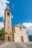 Iglesia Santa Maria Assunta de Candide Imagen de archivo
