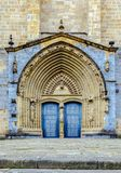 The Iglesia Santa Maria church in Gernika, a historic town in the province of Biscay Bizkaya, Spain. The Iglesia Santa Maria church in Gernika, a historic town Stock Images