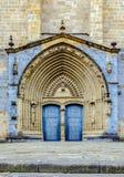 Iglesia Santa Maria kościół w Gernika, historyczny miasteczko w prowinci Biskajski Bizkaya, Hiszpania Obrazy Stock