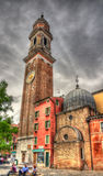 Iglesia Santi Apostoli en Venecia, Italia Fotos de archivo