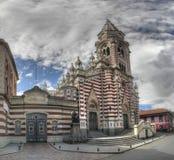 Iglesia Senora del Carmen Panorama Arkivbilder