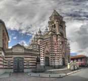 Iglesia Senora del Carmen Panorama Stock Images