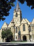 Iglesia Sibiu Rumania de Evanghelical Imágenes de archivo libres de regalías