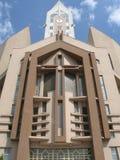Iglesia Sibiu Rumania de Evanghelical Imagen de archivo