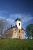Iglesia solitaria fotografía de archivo