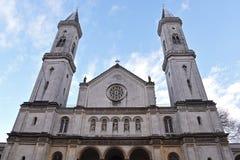 Iglesia St. Louis, Munich fotos de archivo libres de regalías