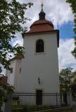 Iglesia St Pancras - monumentos culturales de la ciudad de Praga 4 Imagen de archivo