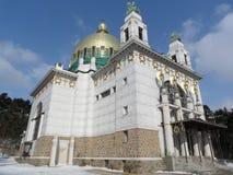 Iglesia Steinhof en Viena, Austria Imagen de archivo libre de regalías