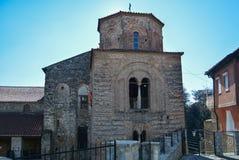 Iglesia StSophia en Ohrid imagenes de archivo