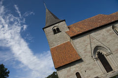 Iglesia sueca Imagenes de archivo