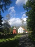 Iglesia sueca Imagen de archivo