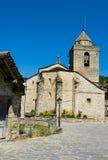 Iglesia SXVI de Sieste.Huesca.Spain Fotos de archivo
