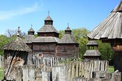 Iglesia tradicional de Ucrania Imagen de archivo libre de regalías
