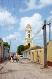 Iglesia Trinidad Cuba Imagenes de archivo