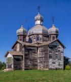 Iglesia ucraniana vieja abandonada Fotos de archivo libres de regalías
