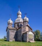 Iglesia ucraniana vieja abandonada Fotos de archivo