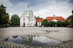 Iglesia Varsovia de Catolic Foto de archivo