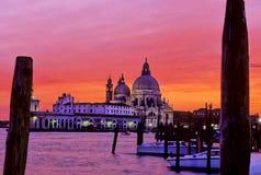 Iglesia Venecia, Italia Imagenes de archivo