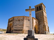 Iglesia Vera Cruz, Spain Royalty Free Stock Image