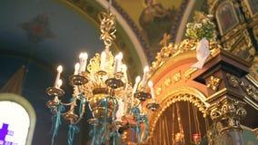 Iglesia vieja Arquitectura cristiana de la religión Catedral vieja católica religiosa dentro Edificio de la fe del cristianismo metrajes