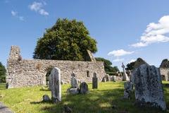 Iglesia vieja de Kilcash Foto de archivo