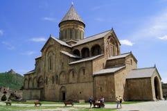 Iglesia vieja de la catedral de Mtskheta Imagenes de archivo