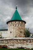 Iglesia vieja de la ciudad rusa antigua Fotos de archivo