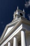 Iglesia vieja de la pesca de ballenas - Edgartown foto de archivo
