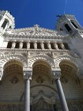 Iglesia vieja de Lyon, Francia Fotos de archivo