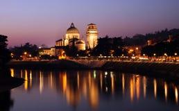 Iglesia vieja de Verona Imágenes de archivo libres de regalías