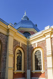 Iglesia vieja del ladrillo Foto de archivo