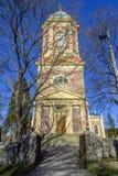 Iglesia vieja del ladrillo Foto de archivo libre de regalías