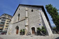 Iglesia vieja en Annecy foto de archivo