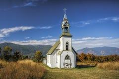 Iglesia vieja en Canadá Fotos de archivo libres de regalías