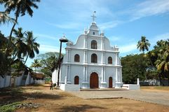Iglesia vieja en Cochin, Kerala, la India Imagen de archivo libre de regalías