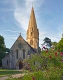 Iglesia vieja en Cotswolds, Reino Unido Fotos de archivo libres de regalías