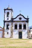 Iglesia vieja en el Brasil Foto de archivo
