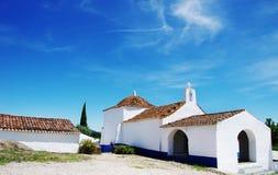 iglesia vieja en el sao Cristovao, Alentejo Fotos de archivo libres de regalías