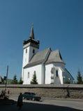 Iglesia vieja en el Transcarpathia Imágenes de archivo libres de regalías