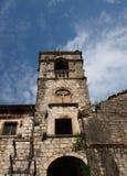 Iglesia vieja en Kotor Imagen de archivo